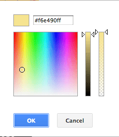 google slides how to change color