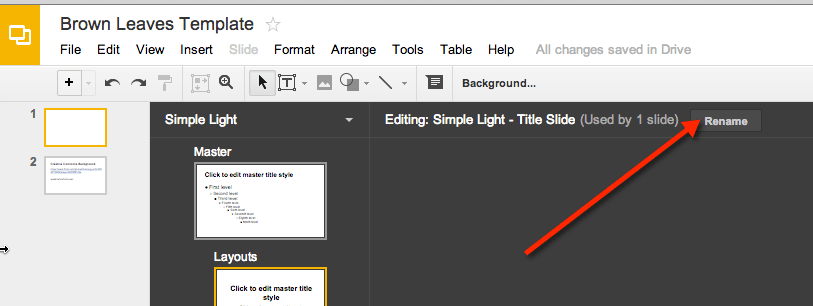 10 easy steps: creating presentation templates in google slides, Presentation templates