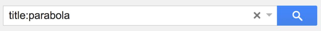 Search Google Drive - Title:Keyword - Teacher Tech