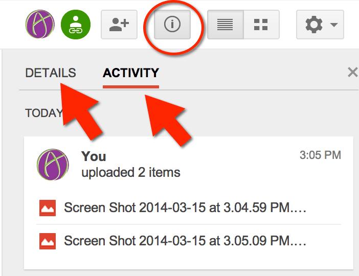 how to share google drive folder